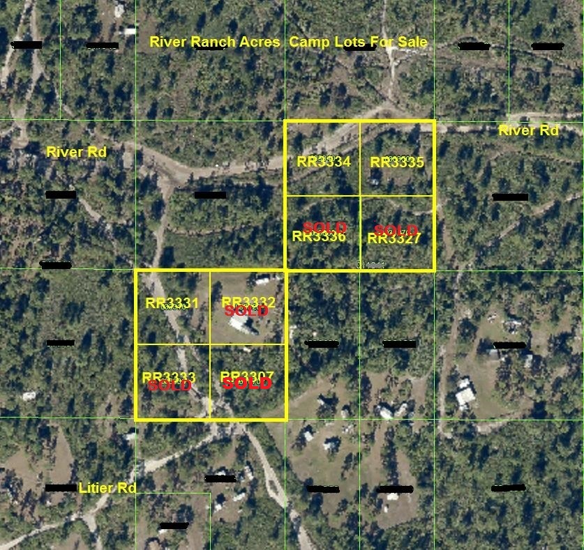 River Ranch RR RRPOA Camp lots for sale atv 4x4 hunt Florida Recreational land