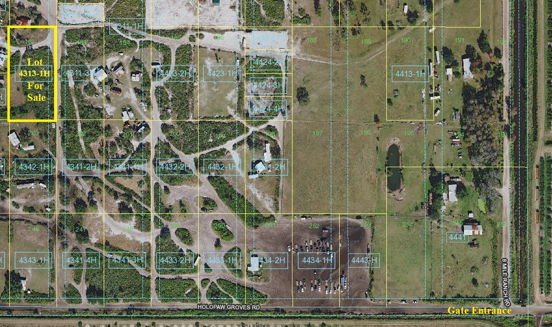 Suburban Estates Holopaw Florida Land for sale